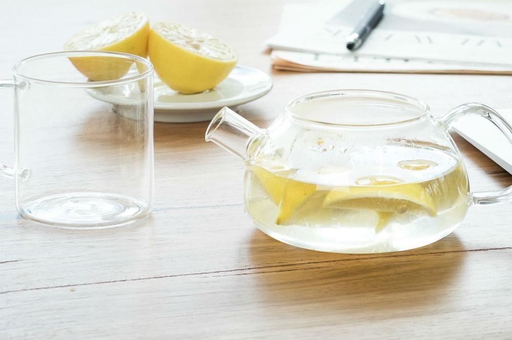 lemon tea and honey