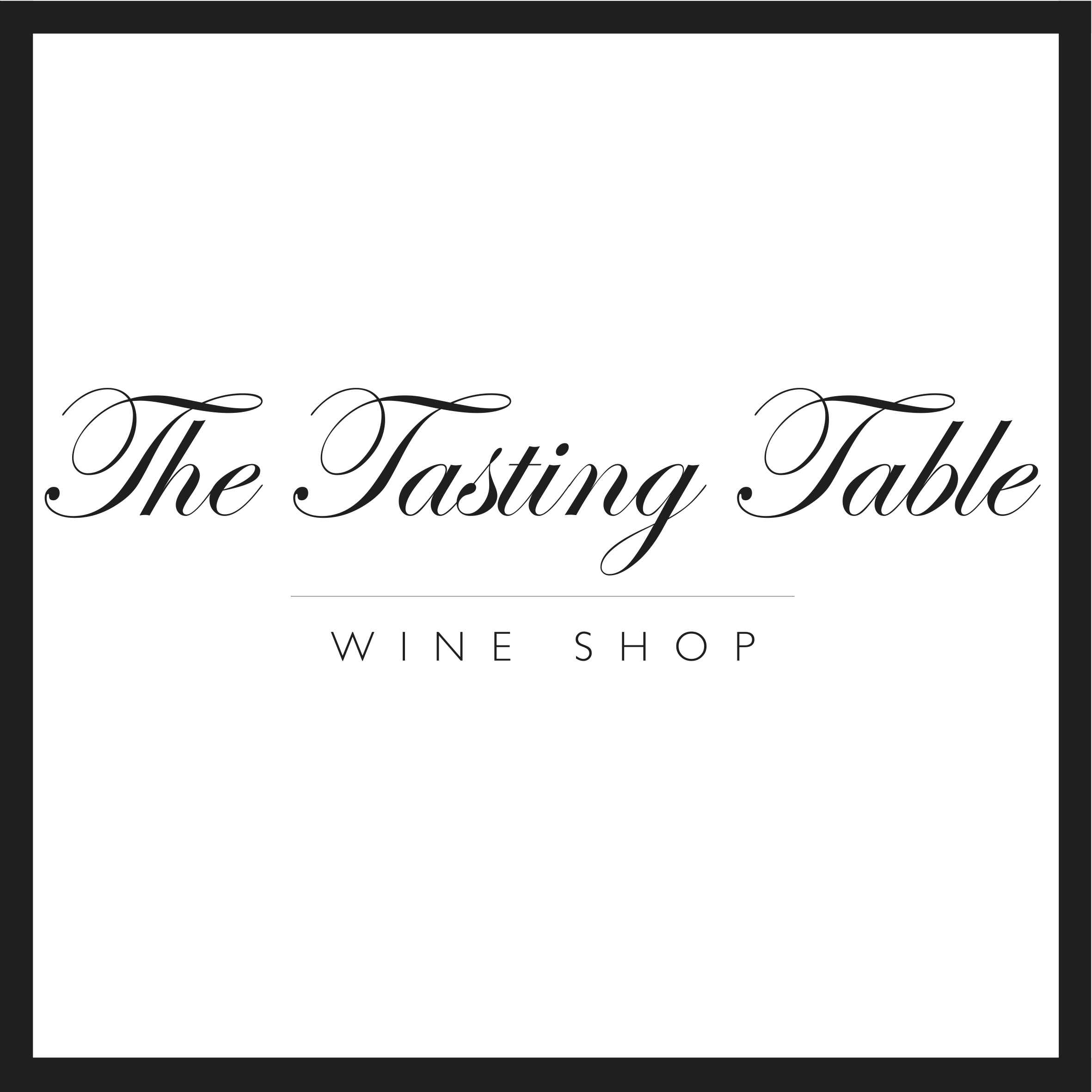 The Tasting Table Wine Shop