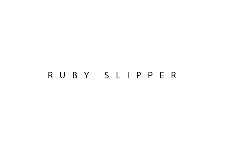 Ruby Slipper