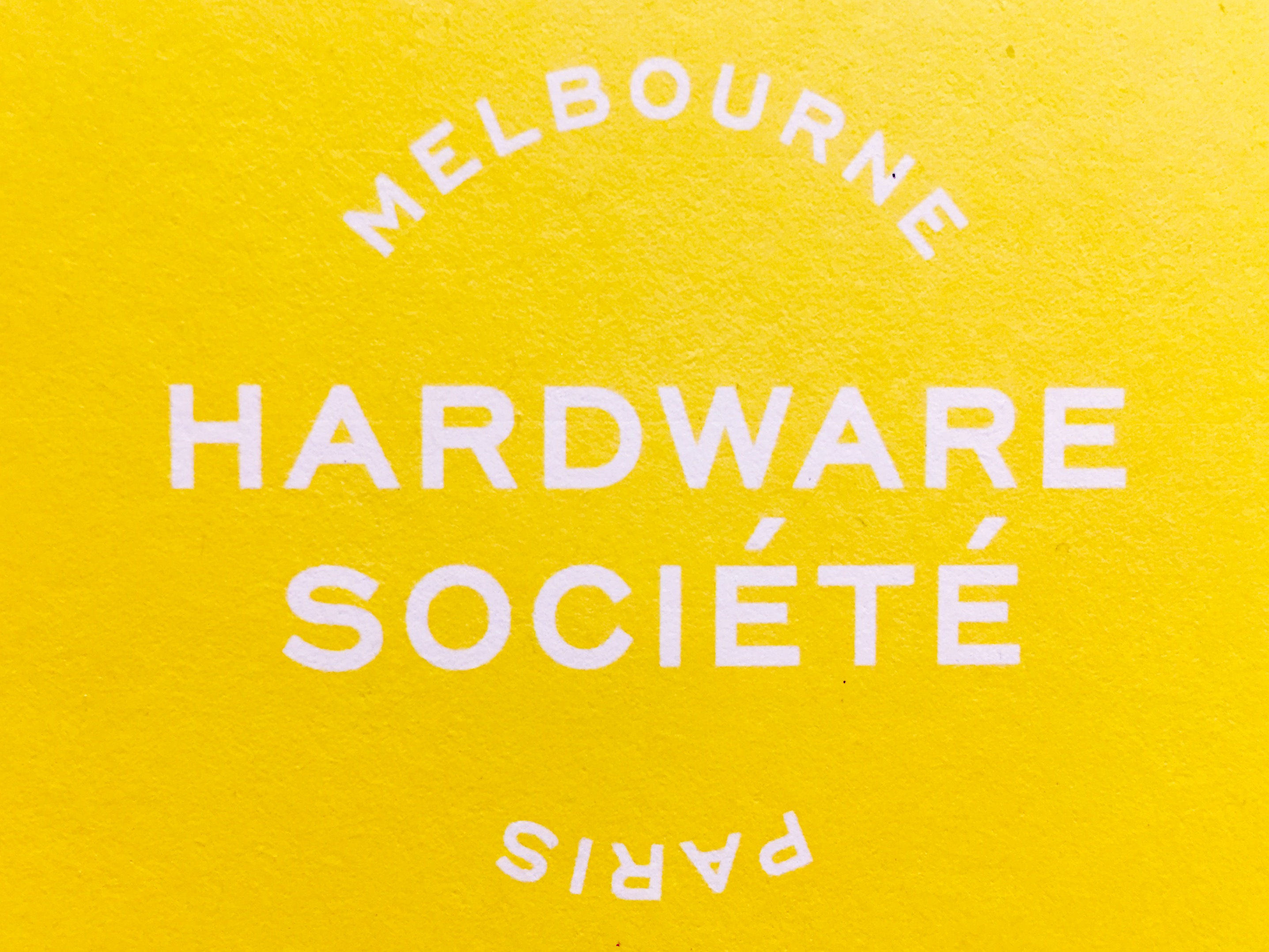 The Hardware Societe