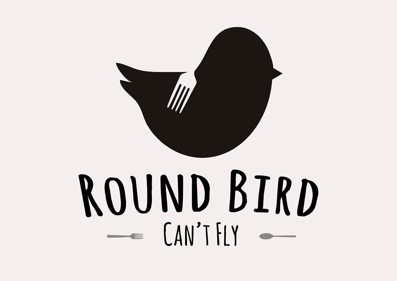 Round bird can't fly