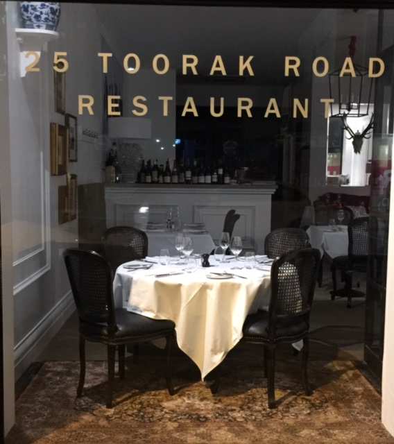 25 Toorak Road Restaurant