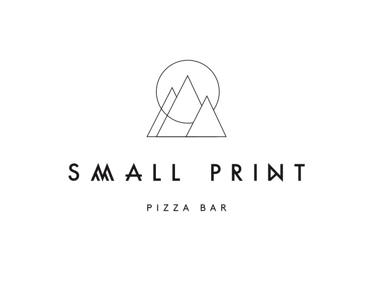 Small Print Pizza Bar