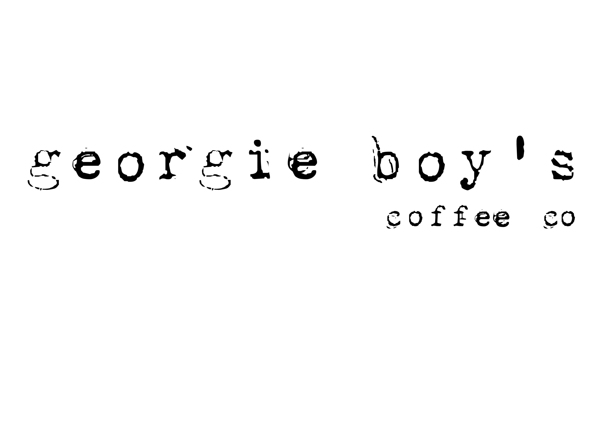 georgie boys coffee co