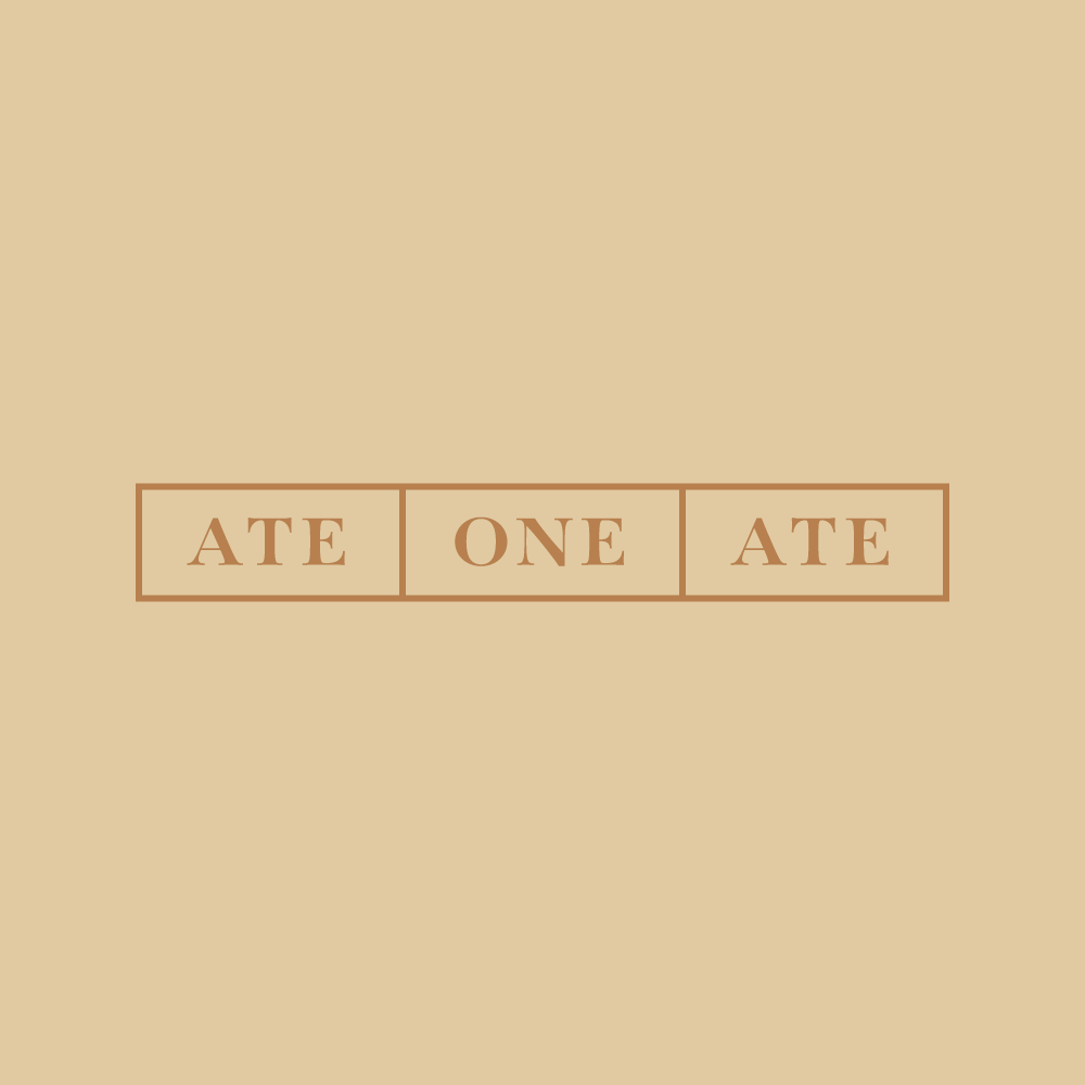 ATE ONE ATE